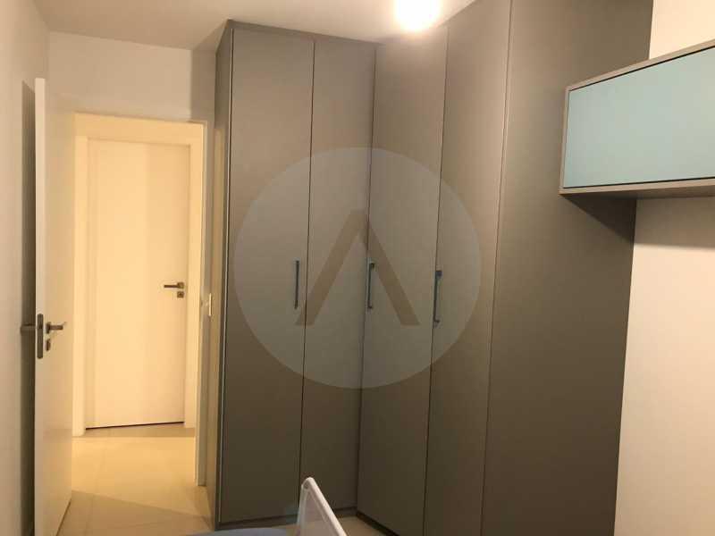 10 Apartamento Padrão Piratin - Imobiliária Agatê Imóveis vende Apartamento de 90 m² Piratininga - Niterói por 750 mil reais. - HTAP20037 - 11