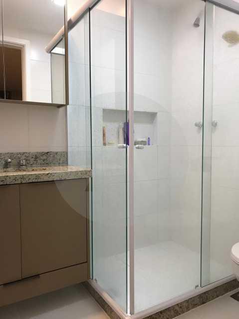 15 Apartamento Padrão Piratin - Imobiliária Agatê Imóveis vende Apartamento de 90 m² Piratininga - Niterói por 750 mil reais. - HTAP20037 - 16