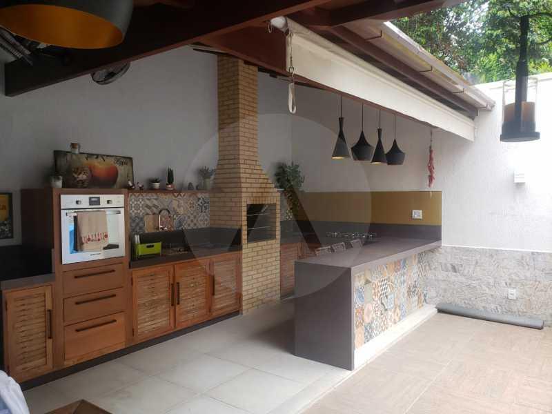 casa rua buzzin itaipu 03 - Imobiliária Agatê Imóveis vende casa em condomínio por R 950.000 - Itaipu - Niterói/RJ - HTCN40082 - 1