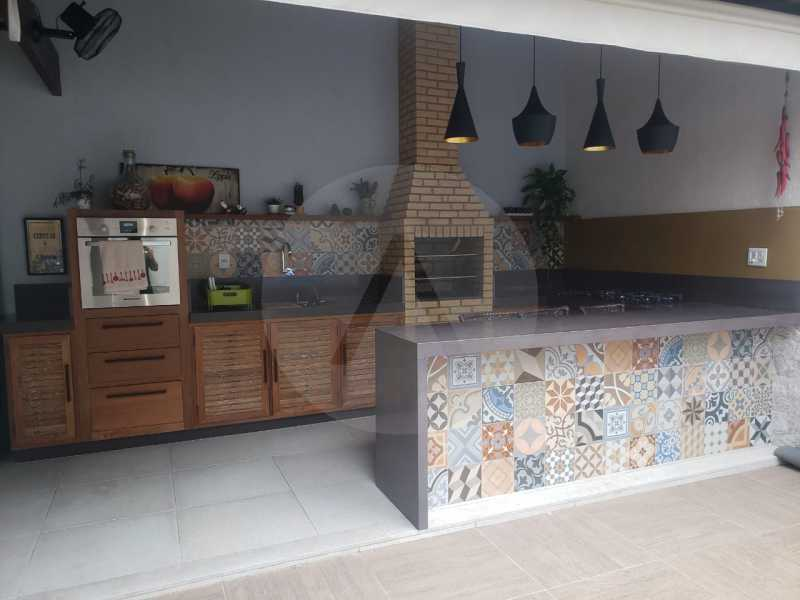 casa rua buzzin itaipu 04 - Imobiliária Agatê Imóveis vende casa em condomínio por R 950.000 - Itaipu - Niterói/RJ - HTCN40082 - 6