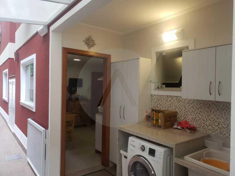 casa rua buzzin itaipu 09 - Imobiliária Agatê Imóveis vende casa em condomínio por R 950.000 - Itaipu - Niterói/RJ - HTCN40082 - 11