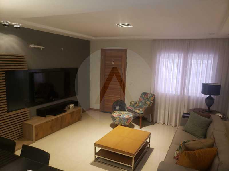 casa rua buzzin itaipu 12 - Imobiliária Agatê Imóveis vende casa em condomínio por R 950.000 - Itaipu - Niterói/RJ - HTCN40082 - 3