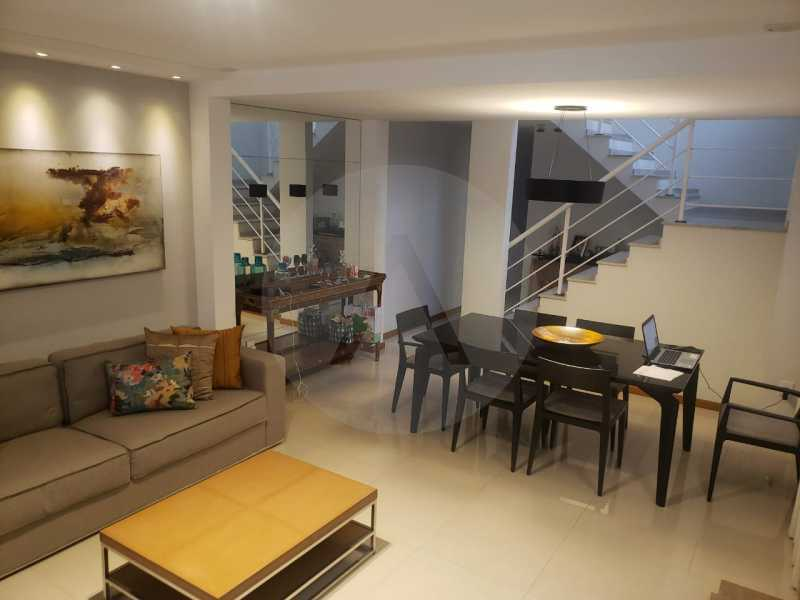 casa rua buzzin itaipu 13 - Imobiliária Agatê Imóveis vende casa em condomínio por R 950.000 - Itaipu - Niterói/RJ - HTCN40082 - 14