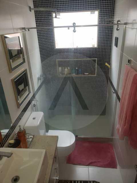 casa rua buzzin itaipu 17 - Imobiliária Agatê Imóveis vende casa em condomínio por R 950.000 - Itaipu - Niterói/RJ - HTCN40082 - 17