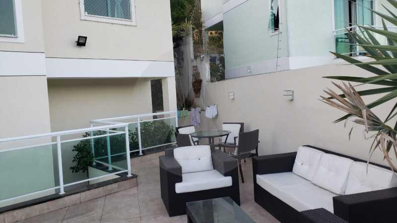 casa argeu 04 - Imobiliária Agatê Imóveis vende Casa Padrão de 250m² Itaipu - Niterói por 890 mil reais - HTCA30252 - 6
