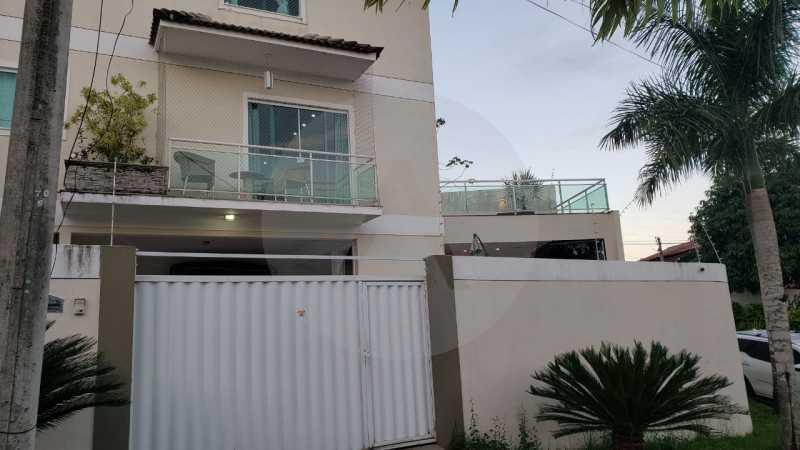 casa argeu 05 - Imobiliária Agatê Imóveis vende Casa Padrão de 250m² Itaipu - Niterói por 890 mil reais - HTCA30252 - 7