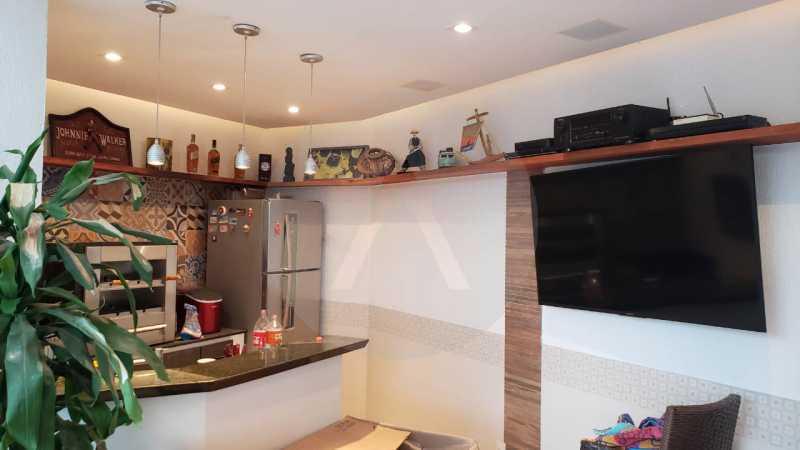 casa argeu 06 - Imobiliária Agatê Imóveis vende Casa Padrão de 250m² Itaipu - Niterói por 890 mil reais - HTCA30252 - 8