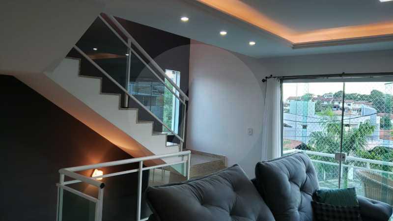 casa argeu 07 - Imobiliária Agatê Imóveis vende Casa Padrão de 250m² Itaipu - Niterói por 890 mil reais - HTCA30252 - 9