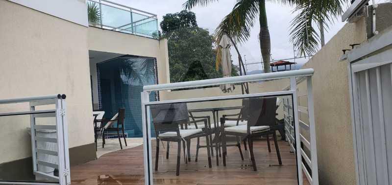 casa argeu 11 - Imobiliária Agatê Imóveis vende Casa Padrão de 250m² Itaipu - Niterói por 890 mil reais - HTCA30252 - 12
