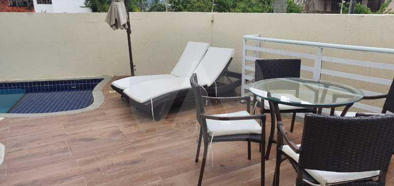 casa argeu 12 - Imobiliária Agatê Imóveis vende Casa Padrão de 250m² Itaipu - Niterói por 890 mil reais - HTCA30252 - 3