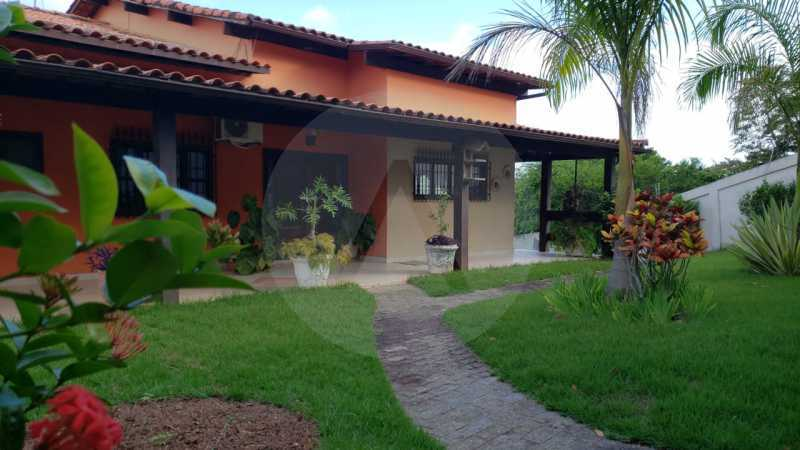 casa manoel rua oitenta itaipu - Imobiliária Agatê Imóveis vende Casa linear de 320m² por 950 mil - Itaipu - Niterói/RJ - HTCA50025 - 4