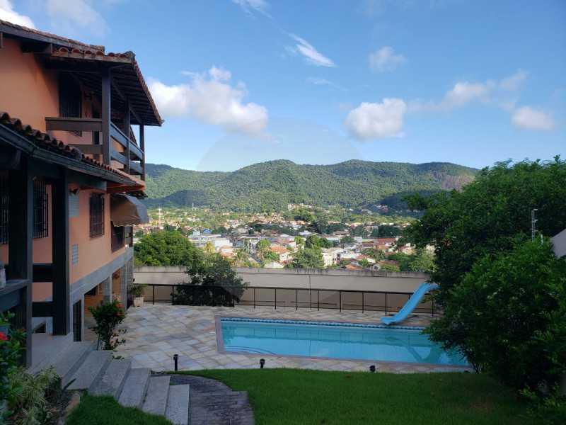 casa manoel rua oitenta itaipu - Imobiliária Agatê Imóveis vende Casa linear de 320m² por 950 mil - Itaipu - Niterói/RJ - HTCA50025 - 1