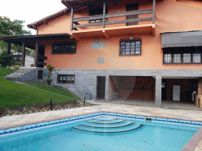 casa manoel rua oitenta itaipu - Imobiliária Agatê Imóveis vende Casa linear de 320m² por 950 mil - Itaipu - Niterói/RJ - HTCA50025 - 5