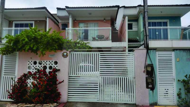 1 Casa Padrão Itaipu. - Imobiliária Agatê Imóveis vende Casa Duplex - Itaipu - Niterói. - HTCA30254 - 1