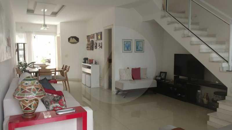 4 Casa Padrão Itaipu. - Imobiliária Agatê Imóveis vende Casa Duplex - Itaipu - Niterói. - HTCA30254 - 5
