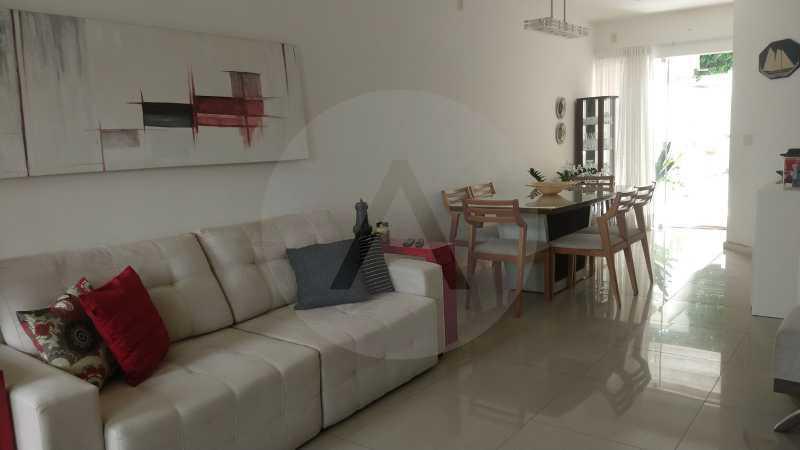 5 Casa Padrão Itaipu. - Imobiliária Agatê Imóveis vende Casa Duplex - Itaipu - Niterói. - HTCA30254 - 6