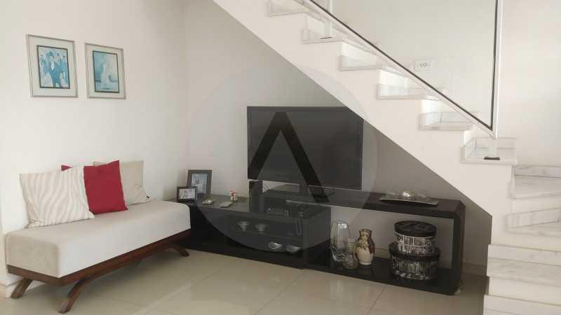 7 Casa Padrão Itaipu. - Imobiliária Agatê Imóveis vende Casa Duplex - Itaipu - Niterói. - HTCA30254 - 8