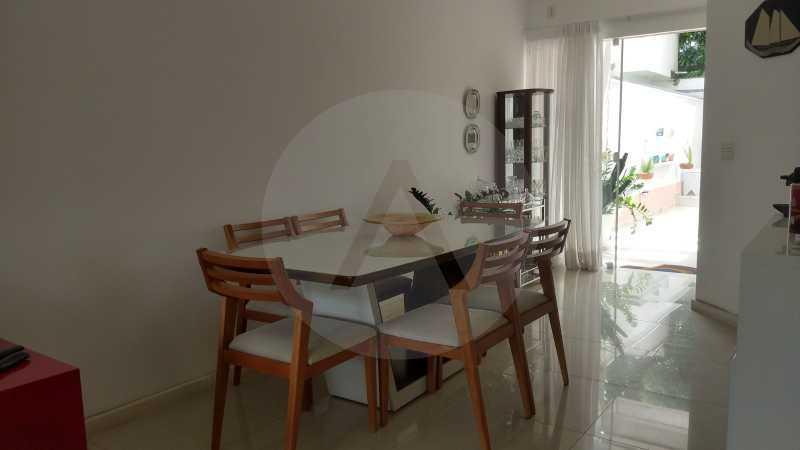 8 Casa Padrão Itaipu 40. - Imobiliária Agatê Imóveis vende Casa Duplex - Itaipu - Niterói. - HTCA30254 - 9