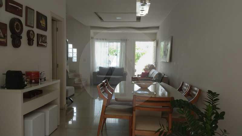 9 Casa Padrão Itaipu. - Imobiliária Agatê Imóveis vende Casa Duplex - Itaipu - Niterói. - HTCA30254 - 10