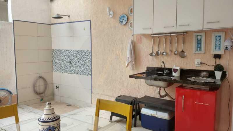 12 Casa Padrão Itaipu. - Imobiliária Agatê Imóveis vende Casa Duplex - Itaipu - Niterói. - HTCA30254 - 13