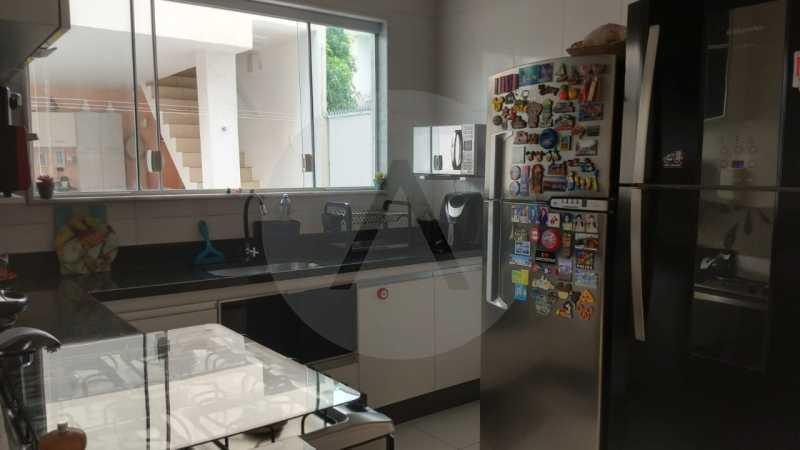 19 Casa Padrão Itaipu. - Imobiliária Agatê Imóveis vende Casa Duplex - Itaipu - Niterói. - HTCA30254 - 20