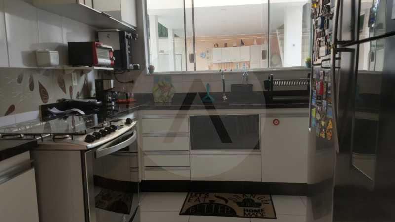 20 Casa Padrão Itaipu. - Imobiliária Agatê Imóveis vende Casa Duplex - Itaipu - Niterói. - HTCA30254 - 21