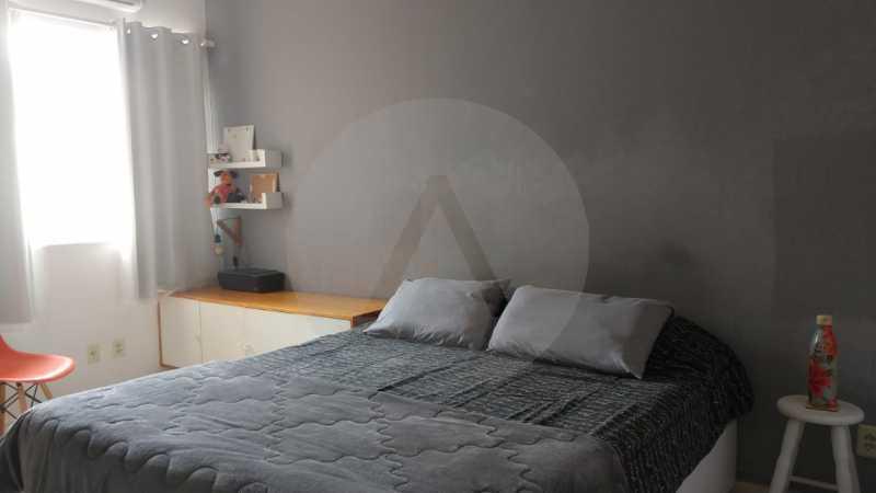 27 Casa Padrão Itaipu. - Imobiliária Agatê Imóveis vende Casa Duplex - Itaipu - Niterói. - HTCA30254 - 28
