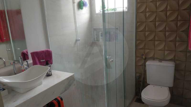 29 Casa Padrão Itaipu. - Imobiliária Agatê Imóveis vende Casa Duplex - Itaipu - Niterói. - HTCA30254 - 30
