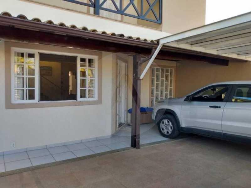 2 Casa Condomínio Itaipu - Imobiliária Agatê Imóveis vende Casa Duplex em Condomínio de 200 m² Itaipu - Niterói por 850 mil reais. - HTCN30109 - 1