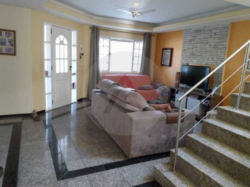 3 Casa Condomínio Itaipu - Imobiliária Agatê Imóveis vende Casa Duplex em Condomínio de 200 m² Itaipu - Niterói por 850 mil reais. - HTCN30109 - 4