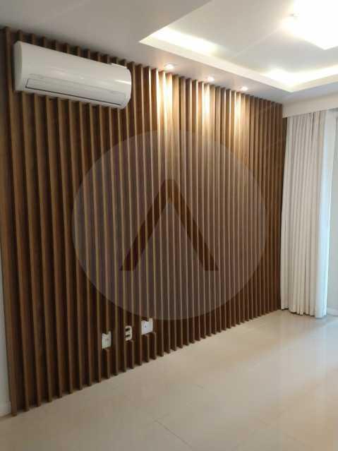 apartamento rocca majori 02 - Imobiliária Agatê Imóveis vende Apartamento de 75 m² Itaipu - Niterói. - HTAP20038 - 3