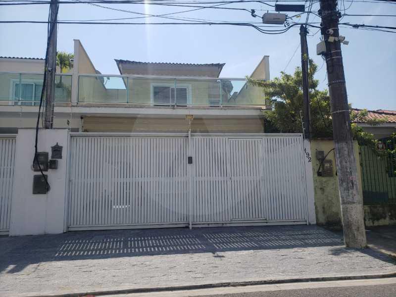 casa rua brasilia 01 - Imobiliária Agatê Imóveis vende Casa Duplex de primeira locação com 210m² Piratininga - Niterói por 720 mil reais. - HTCA30258 - 1