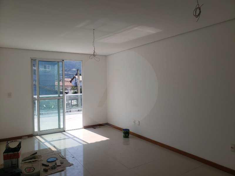 casa rua brasilia 03 - Imobiliária Agatê Imóveis vende Casa Duplex de primeira locação com 210m² Piratininga - Niterói por 720 mil reais. - HTCA30258 - 4