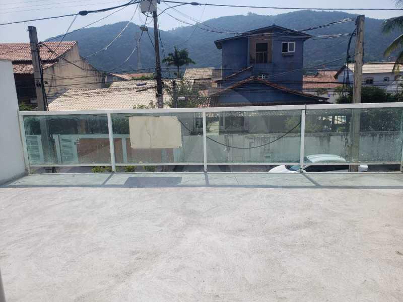 casa rua brasilia 05 - Imobiliária Agatê Imóveis vende Casa Duplex de primeira locação com 210m² Piratininga - Niterói por 720 mil reais. - HTCA30258 - 6