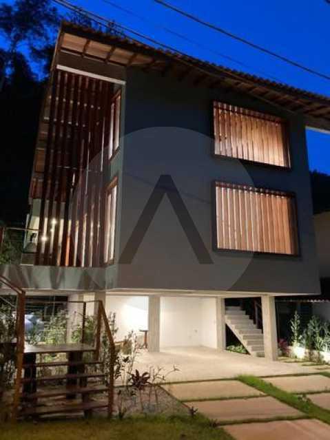 casa uba recanto 02 - Imobiliária Agate imóveis vende belíssima casa em condominio de luxo Itaipu - Niteró - HTCN30110 - 4