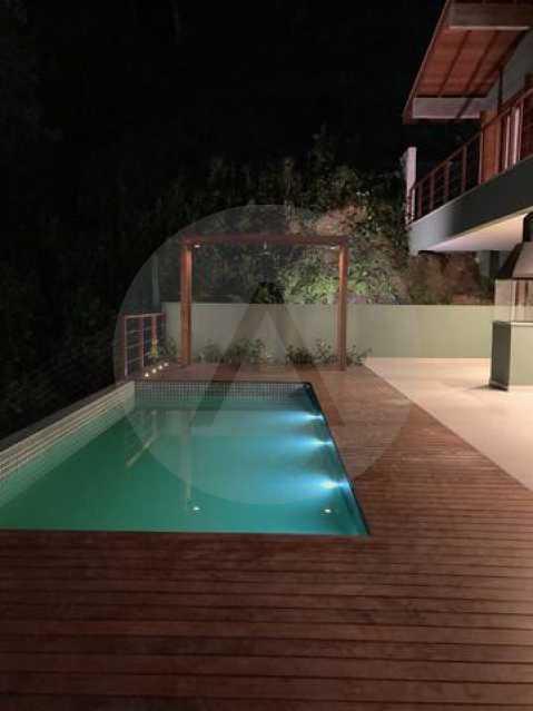casa uba recanto 06 - Imobiliária Agate imóveis vende belíssima casa em condominio de luxo Itaipu - Niteró - HTCN30110 - 3