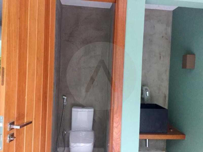 casa uba recanto 10 - Imobiliária Agate imóveis vende belíssima casa em condominio de luxo Itaipu - Niteró - HTCN30110 - 11