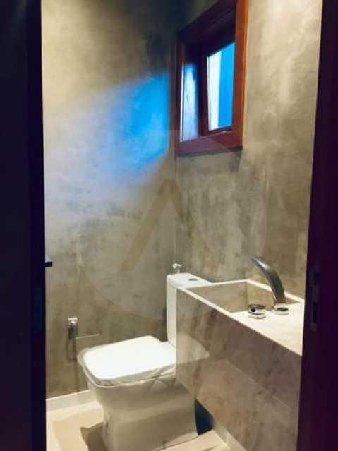 casa uba recanto 12 - Imobiliária Agate imóveis vende belíssima casa em condominio de luxo Itaipu - Niteró - HTCN30110 - 13