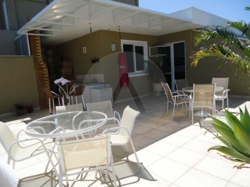 cobertura piratininga 02 - Imobiliária Agate imóveis vende linda cobertura Duplex em Piratininga / Niterói - HTCO40003 - 1