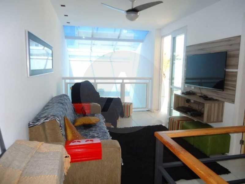 cobertura piratininga 03 - Imobiliária Agate imóveis vende linda cobertura Duplex em Piratininga / Niterói - HTCO40003 - 4