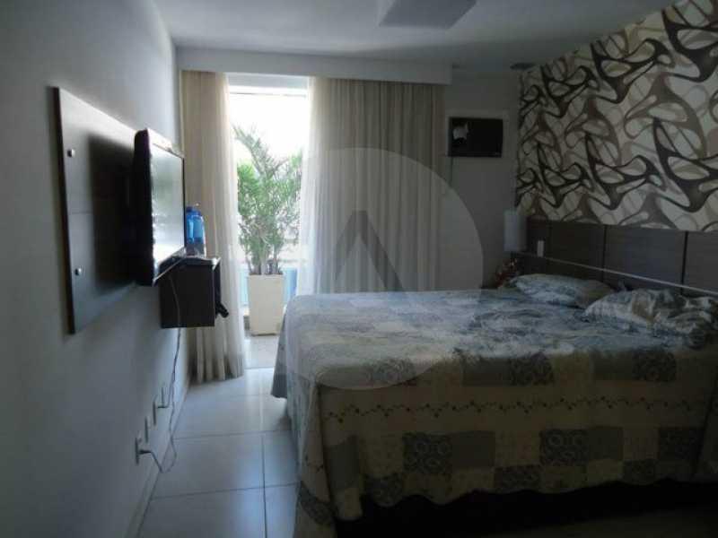 cobertura piratininga 08 - Imobiliária Agate imóveis vende linda cobertura Duplex em Piratininga / Niterói - HTCO40003 - 5