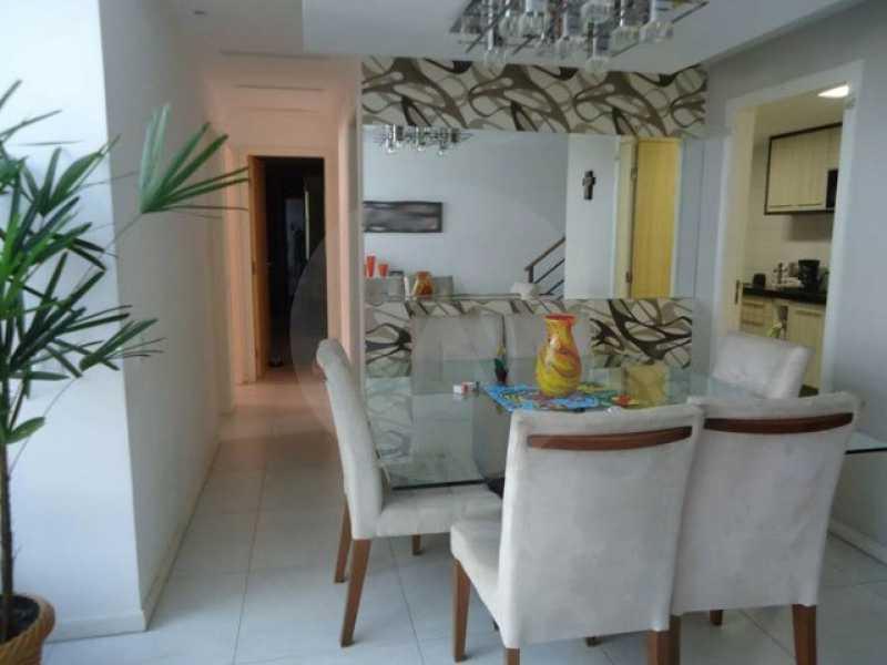 cobertura piratininga 12 - Imobiliária Agate imóveis vende linda cobertura Duplex em Piratininga / Niterói - HTCO40003 - 13