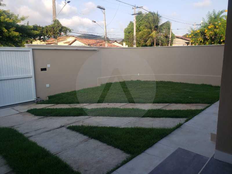 24 Casa Padrão Piratininga - Imobiliária Agatê Imóveis vende Casa Duplex de primeira locação - Piratininga - Niterói. - HTCA40127 - 25