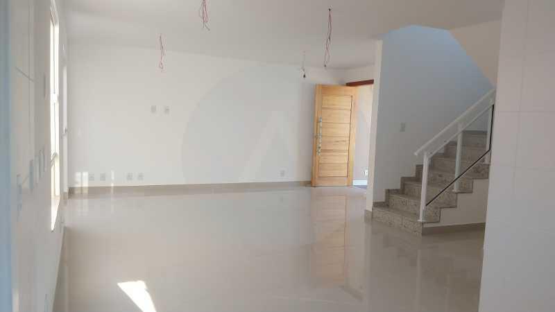 1 Casa Padrão Piratininga. - Imobiliária Agatê Imóveis vende Casa Duplex de primeira locação - Piratininga - Niterói. - HTCA40127 - 1