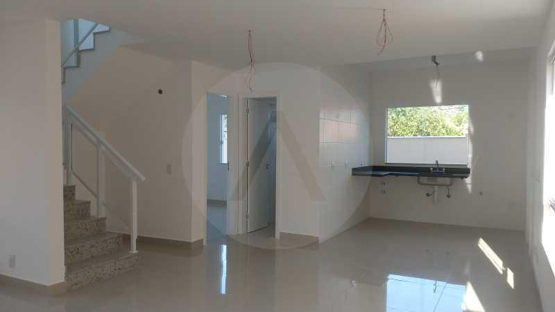 3 Casa Padrão Piratininga. - Imobiliária Agatê Imóveis vende Casa Duplex de primeira locação - Piratininga - Niterói. - HTCA40127 - 4