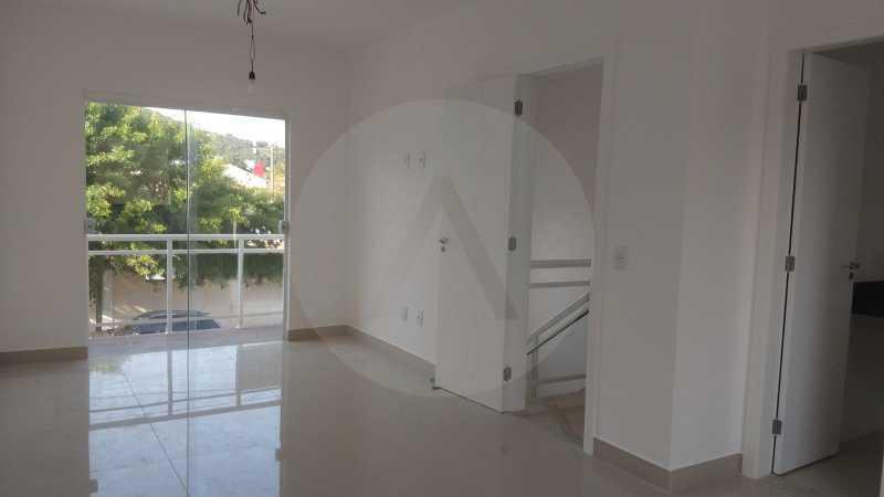 10 Casa Padrão Piratininga. - Imobiliária Agatê Imóveis vende Casa Duplex de primeira locação - Piratininga - Niterói. - HTCA40127 - 11