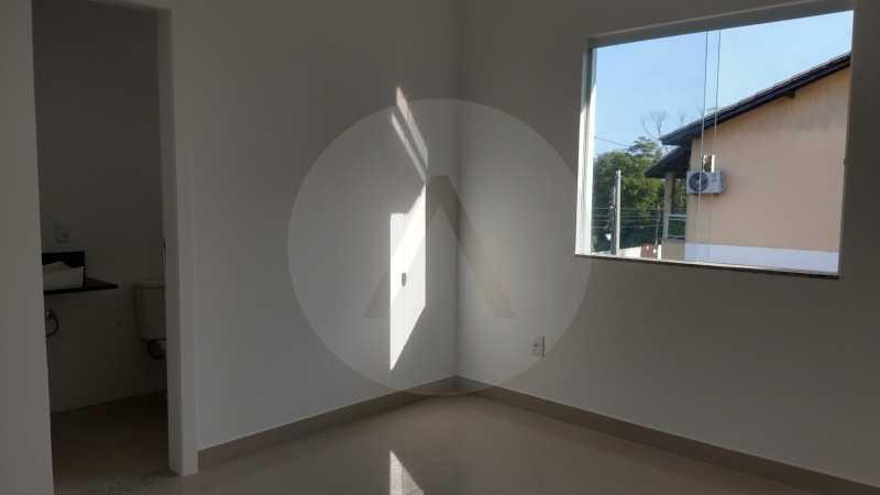 14 Casa Padrão Piratininga. - Imobiliária Agatê Imóveis vende Casa Duplex de primeira locação - Piratininga - Niterói. - HTCA40127 - 15