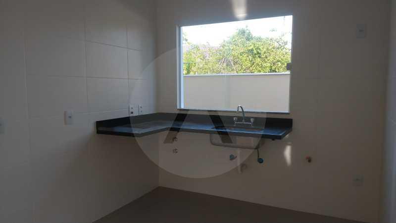 20 Casa Padrão Piratininga. - Imobiliária Agatê Imóveis vende Casa Duplex de primeira locação - Piratininga - Niterói. - HTCA40127 - 21