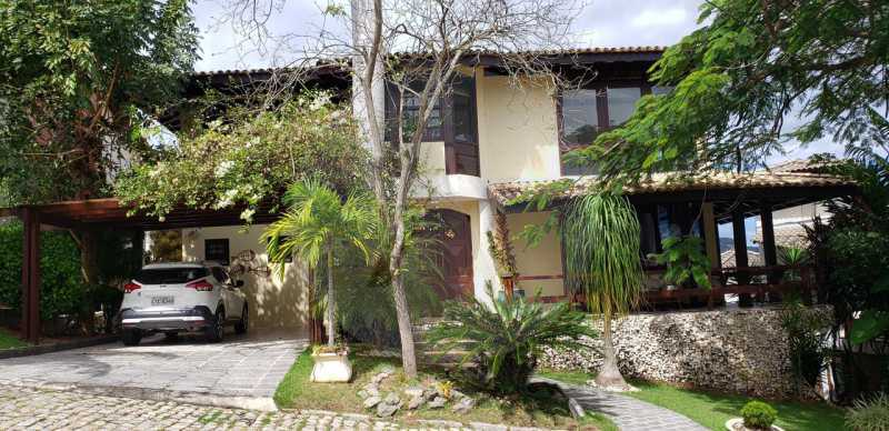 casa lirios do campo 01 - Agate Imóveis vende belissima residencia em condominio de luxo em Camboinhas - Niterói - HTCN50020 - 3