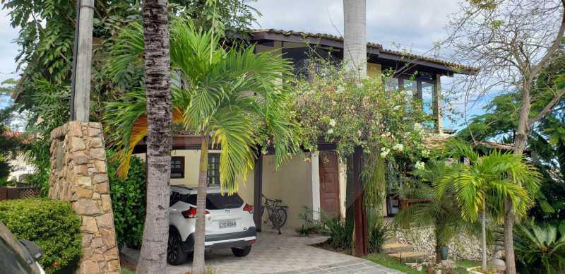 casa lirios do campo 08 - Agate Imóveis vende belissima residencia em condominio de luxo em Camboinhas - Niterói - HTCN50020 - 1